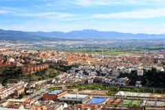 Tetti di Granada Immagini Stock Libere da Diritti