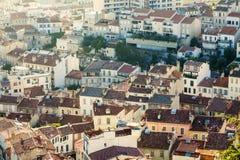 Tetti di Marsiglia Fotografia Stock