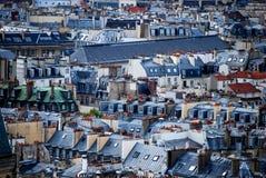 Tetti di Parigi Immagini Stock Libere da Diritti