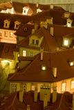 Tetti di Praga Fotografia Stock