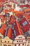Tetti di Praga immagini stock