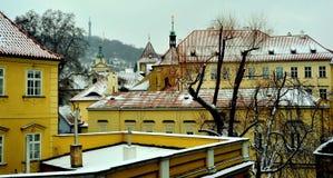Tetti di Praga, repubblica Ceca Immagine Stock