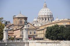 Tetti di Roma Fotografia Stock Libera da Diritti