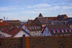 Tetti di Strasburgo Fotografia Stock Libera da Diritti