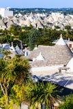 Tetti di Trulli in Alberobello, Italia Immagine Stock Libera da Diritti