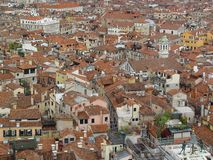 Tetti di Venezia immagini stock libere da diritti