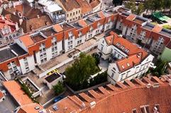 Tetti di Vilnius Città Vecchia Immagine Stock Libera da Diritti