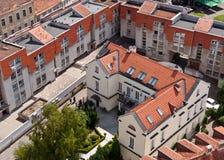 Tetti di Vilnius Città Vecchia Immagini Stock Libere da Diritti