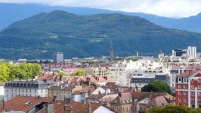 Tetti a Grenoble video d archivio
