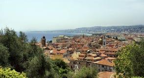 Tetti in Nizza, Francia immagini stock