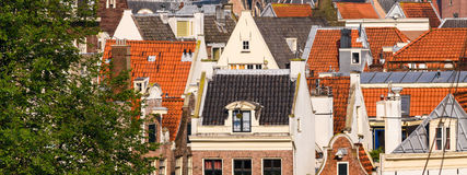 Tetti olandesi Fotografia Stock