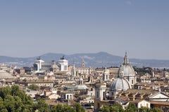 Tetti a Roma Immagini Stock Libere da Diritti