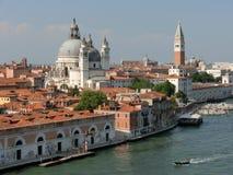 Tetti rossi di Venezia Immagini Stock Libere da Diritti
