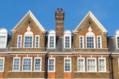 Tetti tipici edifici di Londra immagini stock