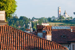 Tetti a Vicenza Fotografia Stock
