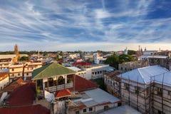 Tetti Zanzibar della città Fotografia Stock Libera da Diritti