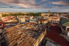 Tetti Zanzibar della città Fotografie Stock