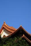 Tetto cinese del tempiale Fotografia Stock Libera da Diritti