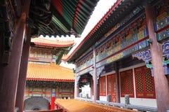 Tetto cinese del tempiale. Fotografia Stock Libera da Diritti