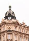 Tetto con gli orologi fotografie stock libere da diritti