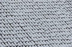 Tetto con neve Fotografia Stock