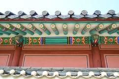 Tetto coreano fotografie stock libere da diritti