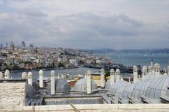 Tetto a Costantinopoli fotografia stock libera da diritti