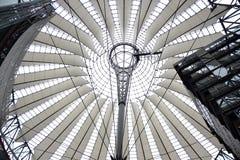 Tetto del centro del SONY - Berlino Fotografia Stock