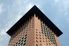 Tetto del grattacielo Fotografia Stock