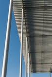 Tetto del metallo Fotografia Stock