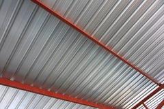 Tetto del metallo Immagine Stock