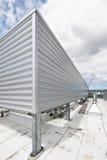 tetto del metallo di sistema di chiusura Fotografia Stock Libera da Diritti