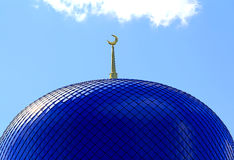 Tetto del tempiale di islam Fotografia Stock