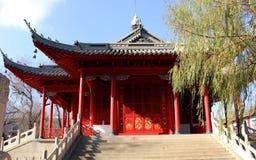 Tetto del tempio fotografia stock