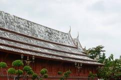 Tetto del tempio Immagine Stock