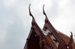 Tetto del tempio Fotografie Stock Libere da Diritti