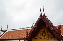 Tetto del tempio Fotografie Stock