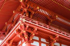 Tetto del tempio del Giappone fotografie stock libere da diritti