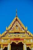Tetto del tempio i timpani Fotografia Stock