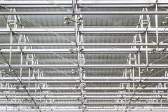 Tetto dell'acciaio del soffitto Immagini Stock