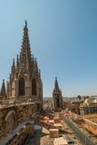 Tetto della cattedrale Fotografie Stock Libere da Diritti