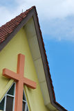 Tetto della chiesa Immagini Stock Libere da Diritti