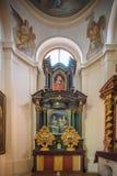 Tetto della chiesa dell'interno Camera della chiesa Fotografie Stock Libere da Diritti