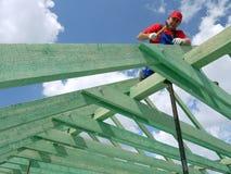 tetto della costruzione Immagini Stock