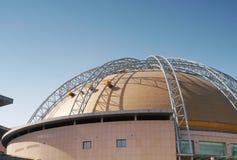 Tetto della costruzione della sala da concerto Fotografia Stock