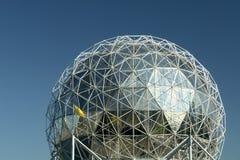 Tetto della cupola del mondo di scienza Fotografia Stock Libera da Diritti