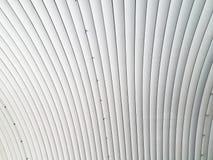 Tetto della lamina di metallo Fotografia Stock