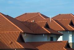 Tetto della proprietà del bene immobile. Fotografia Stock Libera da Diritti