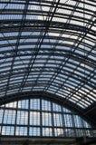 Tetto della stazione ferroviaria di StPancras Fotografia Stock