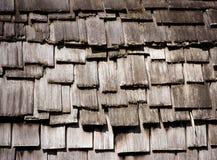 Tetto di legno di Ricketty Fotografie Stock Libere da Diritti